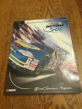 2002 Daytona 500 Nascar Racing Program W/starting Lineup Poster Cd & Plastic...