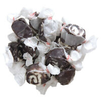 GOURMET BLACK LICORICE SWIRL Salt Water Taffy Candy TAFFY TOWN 1/4 to 10 LB BAG