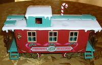 """Train Car by New Bright Caboose Red """"Northern Woodland Express Line G Scale 1986"""