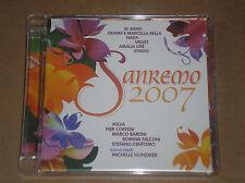 SANREMO 2007 (AL BANO, MILVA, NADA, VELVET, STADIO) -CD COME NUOVO (MINT)