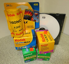 COLOR C-41 FILM DEVELOPED AND SCANNED TO CD. 35mm & 120mm