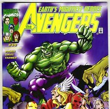 The AVENGERS #454 with Captain America & Thor from Apr 2001 in VF+ con. NS