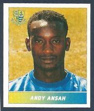 PANINI FOOTBALL LEAGUE 1996- #247-SOUTHEND UNITED-BRENTFORD-ANDY ANSAH