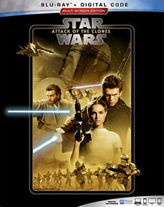 STAR WARS: ATTACK OF THE CLONES [Blu-ray] [Blu-ray] - DVD - Free Shipping. - New