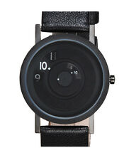 """Projects Watches """"33mm Reveal Watch"""" Acciaio Quarzo Pelle Nero Donna Orologio"""