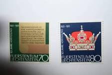 *GUAPO LOTE DE 2 SELLOS DE LIECHTENSTEIN DE 1971,DISTINTOS VAL, NUEVOS CON GOMA