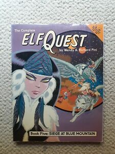 ElfQuest Book 5 Siege at Blue Mountain (VG/Good, Father Tree Press) Wendy Pini