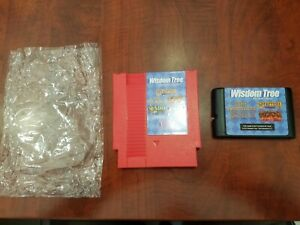 Wisdom Tree Collection Nintendo NES & Sega Genesis game cartridge lot