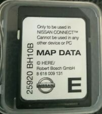 NISSAN CONNECT 1 Navigation SD CARD EUROPA 2013/14 Note Juke Qashqai Micra Cube