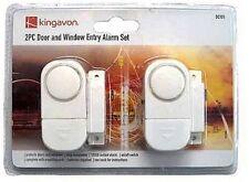 Kingavon 2 PC Door and Window Entry Alarm Set Home Security With 105 Decibels