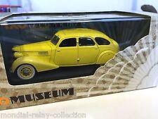 Berliet 11CV Dauphine 1939 - Yellow - 1/43 IXO VOITURE DIECAST - MUS055