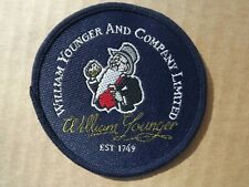 More details for  william younger & company - brewery uniform sew on badge  breweriana