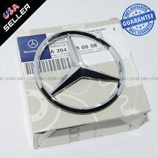Genuine Chrome Benz Logo Trunk Rear Emblem W204 Badges Lid Modified Decoration