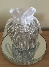 Holy Communion Diamante Cross Dolly Bag/ Very Bling