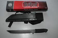 United Cutlery Brands USA Jagdmesser Outdoormesser schwarz Black-Tanto Neu OVP
