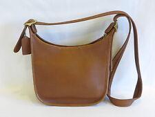 Coach Vintage Medium Brown Leather Cross Body - GR8!