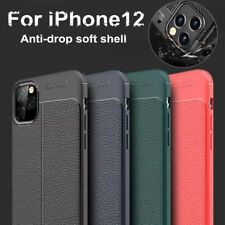 Auto Focus iPhone 12 Anti-Drop Soft Shell Silicone Case Shockproof Leather Cover
