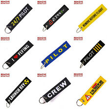 Different Fashionable Remove Before Flight Keychain Key Tags for Car Bike Truck