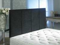 QUALITY CHENILLE SANDRINGHAM HEADBOARD IN 2ft6,3ft,4ft,4ft6,5ft,6ft NEW!!!!!