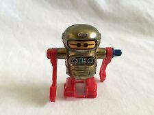 "Vintage 1979 Mini 2.25"" Tomy Walking Robot Wind Up Toy Taiwan"