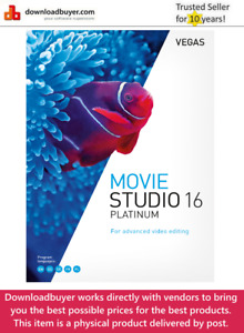 MAGIX VEGAS Movie Studio 16 Platinum - [Boxed]