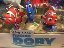 Disney Finding Dory Deluxe 9 Piece Figure Playset Pvc Figurine Cake Toppers New