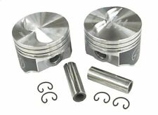 "Speed Pro H660CP Chevy 327 Flat Top Hypereutectic Pistons Std. Bore 4.000"" SBC"