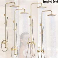 Duschsystem Regendusche Handbrause Duscharmatur Kopfbrause Duschset Dusch DE