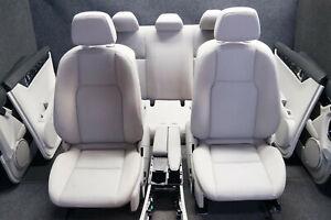 Orig. Mercedes Benz W204 C-Klasse Limo Sitz Stoff Sitze Ausstattung Rückbank /2C