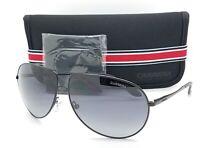 NEW Carrera sunglasses Mens Gypsy Black Grey Gradient 003 AUTHENTIC Aviator 003