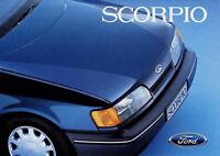 1 Ford Scorpio Prospekt 1985 4/85 D brochure catalogus brosjyre catalog Katalog