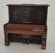 """Vintage Miniature Piano Pencil Sharpener """"Play Me"""" - Made In Spain 969"""