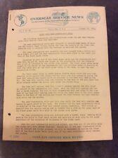 Overseas Service News - National Cash Register Co. - Jan 28 1938