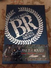 BATTLE ROYALE Japanese DVD (Korean Release) 3-disc Box Set All Region R0 English