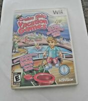Cruise Ship: Vacation Games (Nintendo Wii, 2009)  COMPLETE   FAST SHIPPING  !!!