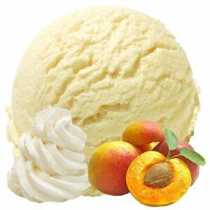 Sahne Pfirsich Geschmack Eispulver Softeispulver 1:3, 0.333 kg