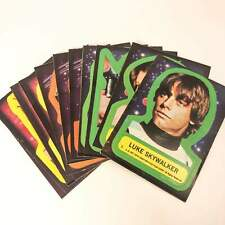 Vintage Star Wars Series 1 (BLUE) Sticker Set Topps O-Pee-Chee 1977 Trading Card