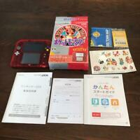 Nintendo 2DS Pokemon Red Pack Game Console Pokemon Center Limited Japan FedEx