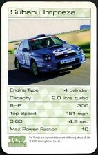 Subaru Impreza - Castrol Drive Days Promotional Top Trumps Card (C514)