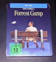 Forrest Gump avec Tom Hanks Limitée Steelbook Édition Blu Ray Neuf & Ovp