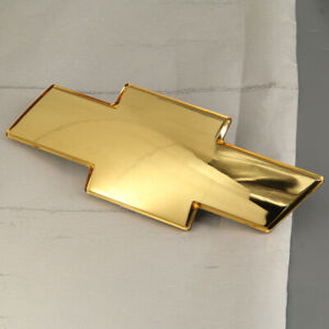 US For 99-02 CHEVY SILVERADO Avalanche 1500 2500 Gold Front Grille Bowtie Emblem