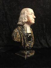 1791 JOHN WESLEY BUST Methodist Founder ENOCH WOOD 18th Century Original BURSLEM
