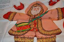 Christmas Woodland Santa Toy Sew Kit with Appliqué's - Ole German Tale