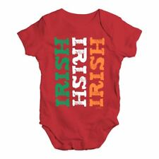 547f95784 Baby Boy Clothes Irish Irish Irish Flag Baby Unisex Baby Grow Bodysuit