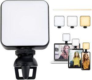 Videokonferenz-Beleuchtungsset Led Video Licht Dimmbare und Wiederaufladbar