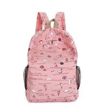 mujer niña ❤ Lona Hombro Mochila Escolar Mochila ✿ Viaje Cartera mochila bolso