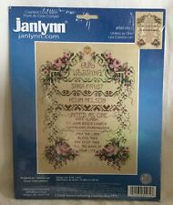 """NEW Janlynn Counted Cross Stitch Kit #080–0461 """"United As One"""""""