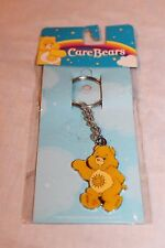 New In Package 2005 Yellow Care Bears Bear Metal Keychain