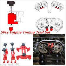 5PCS Dual Cam Camshaft Lock Holder Master Camclamp Kit Engine Timing Lock Tool