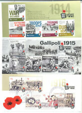 Australia-World War I -1914- 3 min sheets fine used cto - Military